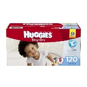 Huggies Snug and Dry Diapers, Size 5, 120 Count by Huggies [並行輸入品]