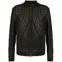 Salvatore Santoro - leather bomber jacket - men - レザー - 50