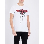 ボーイロンドン boy london メンズ トップス Tシャツ【eagle-print cotton-jersey t-shirt】White red