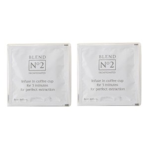 the little coffee bag co. BLEND No 2 カフェインレス 2個セット コーヒー