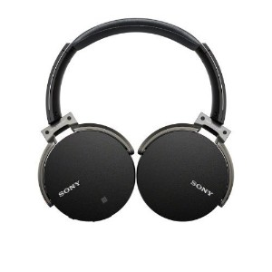 [Direct from USA] Sony MDR-XB950BT/B Extra Bass Bluetooth Wireless Headphones w/Microphone