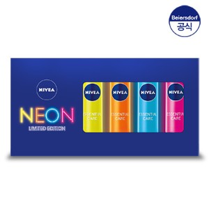 [nivea] ニベア・スペシャルセット/lip neon set 4種★limited edition / special box★