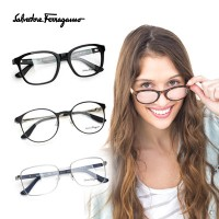 Salvatore Ferragamo Glasses Frames / Free delivery / Frames / glasses / fashion goods / authentic /...