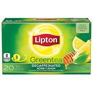 (Lipton) Lipton Green Tea Decaffeinated Honey Lemon 20 ct (Pack of 6) (2006-07-27)