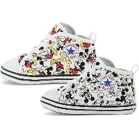 (A倉庫) コンバース CONVERSE BABY ALL STAR N MICKEY MOUSE PT Z ミッキーマウス 子供靴 スニーカー ハイカット シューズ ベビー キッズ 靴 送料無料【s