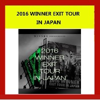 2016 WINNER EXIT TOUR IN JAPAN (3DVD+2CD) BOX 日本版