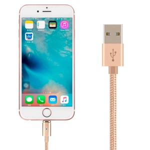 Magnet USB Cable 1M Metal Magnetic Micro USB Data Sync Charger Cell Phone Cable Cord for IOS Phones