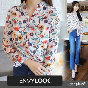 ★theplus★ SuperSale!! ★ High Quality ★ Flower Pattern / Spring / Korean Fashion / Plus size