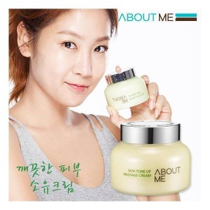 ABOUT ME Skin Tone Up Massage Cream 150ml/Super Sale/100% Authentic direct from Korea/w Sample Gift