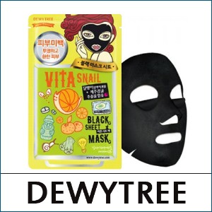 [DEWYTREE] ? Vita Snail Black Mask (10pcs in 1pack)