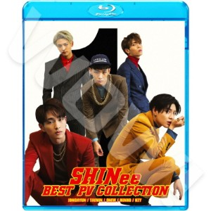 【Blu-ray】? SHINee BEST PV Collection ?  BEST PV/ SOLO UNIT PV ? 【KPOP ブルーレイ】? SHINee シャイニー オンユ ONEW...