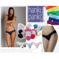 Hanky panky ハンキーパンキー レースローライズソング LOW RISE THONG