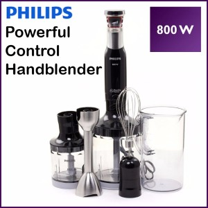 [PHILIPS] Genuine AVANCE Electric Hand Blender Juicer Mixer / Whisk 700W Anti-Splash