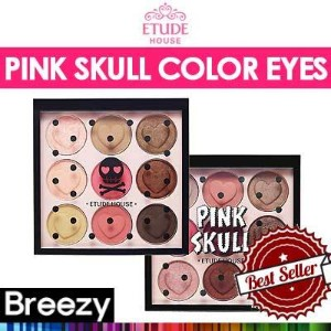 [BREEZY] ★ [Etude House] Pink Skull Color Eyes 9 Colors /