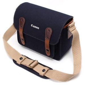 CANON Camera Shoulder Bag NO.3355 / Camera Pocket Bag NO.3355 / DSLR Bag / for EOS-70D / Magnetic...