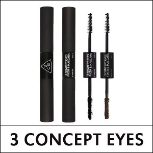 [3 CONCEPT EYES] Fixer and Mascara (6.1g+6.6g)
