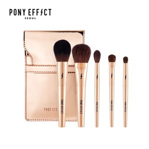 [NEW] Make-up Artist PONYs New Brand Pony Effect Seoul Mini Make Up Brush Set