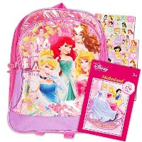 (Disney Interactive Studios) Disney Princess Preschool Backpack Toddler (11 ) with Disney Princes...