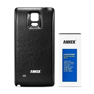 [NFC/Google Wallet Capable] Anker 6440mAh Extended Battery for Samsung Galaxy Note 4 N910 N910U 4G...