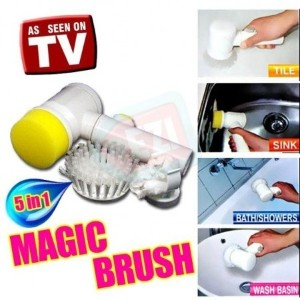 ★As Seen On TV★ Magic Brush / 5 in 1 Cleaning Tool / Get Rid of Dirts / Bathroom Tile / Wall /...