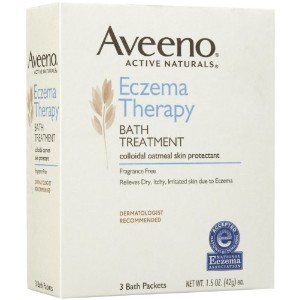 [アメリカ直送]Aveeno Eczema Therapy Bath Treatment