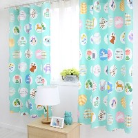 [Home Deco AMANTE]Animal Dot Printing Roman Blackout Curtain Long 2type★Korea Made★High-Quality...