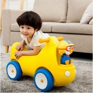 [Free Shipping] Pororo new baby car / toddler / baby / character / mini bike /