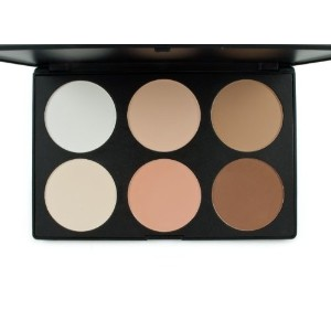 [アメリカ直送]Frola Cosmetics Professional 6 Colors Contour Face Power Foundation Makeup Palette #01