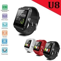 ★U8 Smart Watch★Bluetoothのスマートウォッチ腕時計ハンズフリーマイクスピーカー for iphone 5 5C 5S iphone6 Plus Note4 Note5 S6