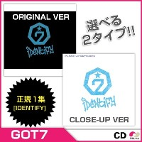 【安心国内発送】【CD】GOT7 - VOL.1 [IDENTIFY] バージョン選択 ORIGINAL VERSION/CLOSE-UP VERSION【RCP】