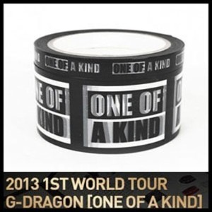 【YG公式】【GDテープセット】【GDコンサートグッズ】GD 2013 one of a kind TAPE SET 、BIG SMALL SET、GD ONE OF A KIND GOODS...