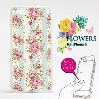 Dress 【iPhone6/6s用】着せ替えiPhoneケース Dress for iPhone6/6s ~FLOWERS02~ ローズ 花柄 DBC6-010