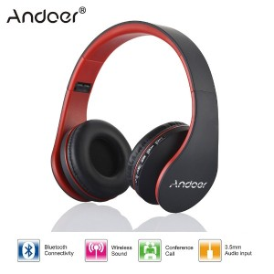 Digital 4 in 1 Multifunctional Headphone Andoer LH-811 Stereo Bluetooth Headphones Wireless Headset...