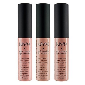 NYX Soft Matte Lip Cream  Stockholm  London  Abu Dhabi - Nude Collection 1
