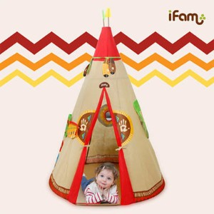 [ifam]new indian Tipi Tent/プレイマット/ベビー用品/おもちゃ