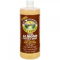 Dr. Woods Shea Vision Pure Castile Soap Almond 32 oz