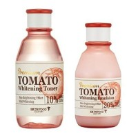 [SkinFood] Premium Tomato Whitening Toner 180ml/ Lotion 140ml/ Korea Cosmetics