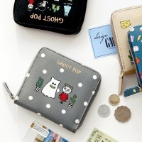 GHOST POP Zipper Wallet -S ゴーストポップジッパー財布 GMZ [made in Korea]