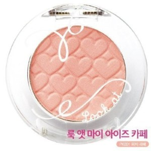 Etude House Look at my eyes Cafe - #PK001 White Coral Pink (Peach Latte)