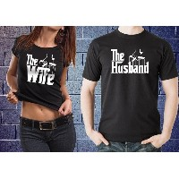 Wedding Gift Couple T-shirts The Wife The Husband Gift For Wedding Just Married Perfect Anniversary...
