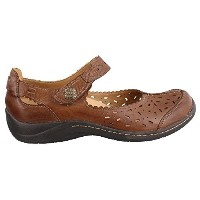 601050WCLF-230 Earth Womens Tanglewood Casual Shoes - Almond - 8.0M