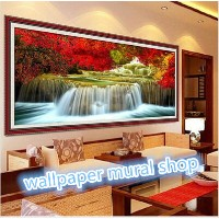 landscape painting Diy diamond embroidery painting for wall decor/home decor/wedding decorations...