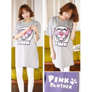 Panda Long T-shirt 2Colors