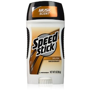 Speed Stick Deodorant Musk Scent 3.25-Ounce Sticks (Pack of 6)