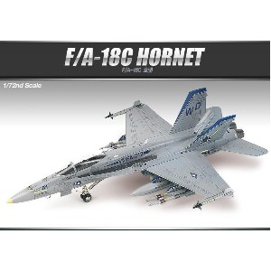 ACADEMY Plastic Model Kit 12411 | F/A-18C HORNET | SCALE 1/72 | Model Building | Ship&Tank&Plane...