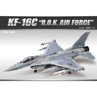 ACADEMY Plastic Model Kit 12418 | KF-16C ROK Air Force | SCALE 1/72 | Model Building | Ship&Tank...