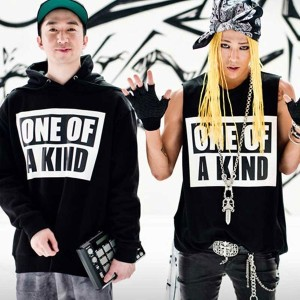 BIGBANG グッズ ONE OF A KIND パーカー 応援服 ビッグバン G-DRAGON ジヨン 着用