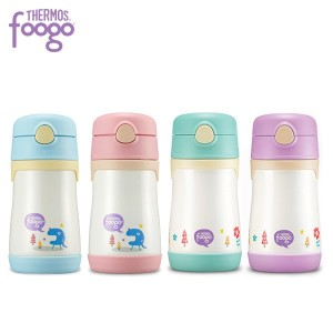 [New Foogo] Vacuum insulation Straw Cup 290ml /Foogo Step 3 / cold cups / BS535K