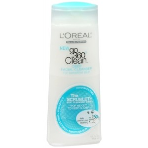 L`Oreal Skin Expertise Go 360 Clean Deep Facial Cleanser For Sensitive Skin 6 oz