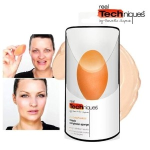 Real Techniques Miracle sponge / sponge makeup / water light / dramatic change / Commodities